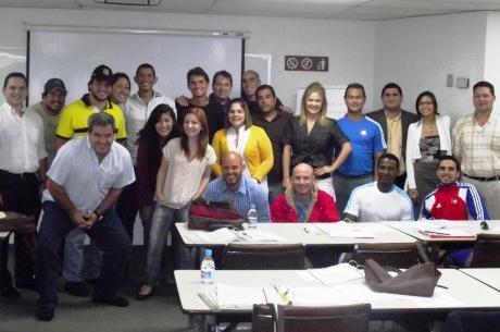 Students of the FIFA/CIES Programme in Venezuela