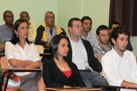 Etudiants du Programme FIFA/CIES au Costa Rica