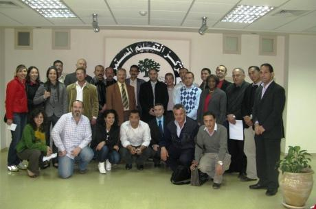 Students of the FIFA/CIES Programme in Palestine