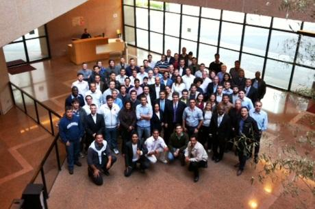 Alumnos del Programa FIFA/CIES en Brasil