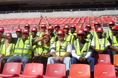 Stadium visit for the students of the FIFA/CIES Programme