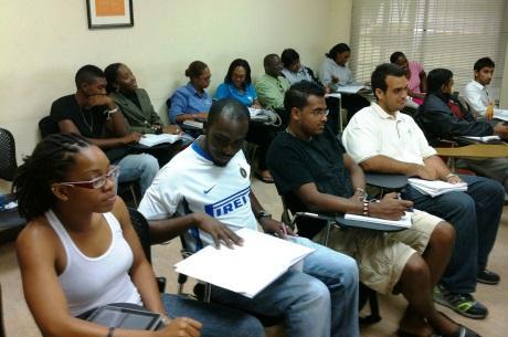 Students of the FIFA/CIES Programme in Trinidad & Tobago