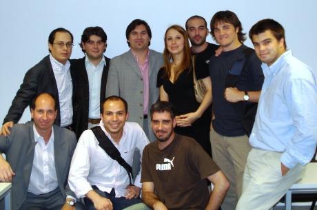 Alumnos del Programa FIFA/CIES en Argentina