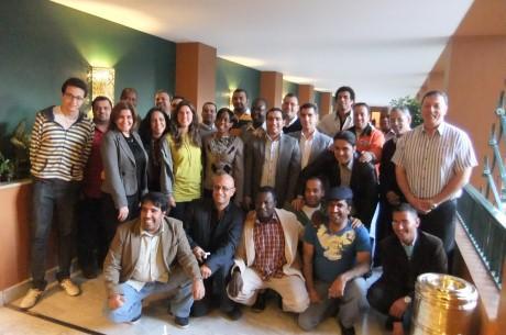 Alumnos del Programa FIFA/CIES en Egipto