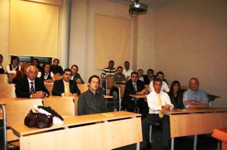 Alumnos del Programa FIFA/CIES en Turquía