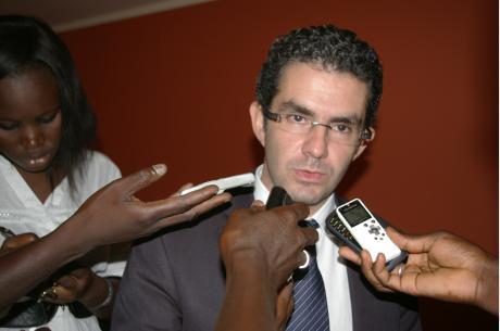 Hicham El Amrani (CAF General Secretary), guest speaker