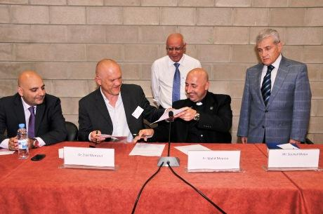 Signature du contrat CIES - NDU