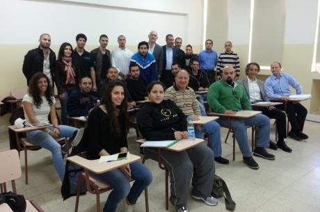 Etudiants du Programme FIFA/CIES au Liban